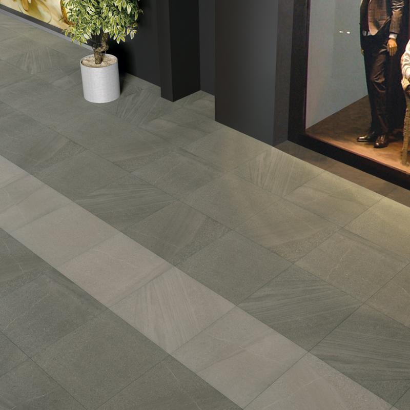 Dalle pietra carrelage ext rieur 2 cm gris imitation for Carrelage pierre exterieur