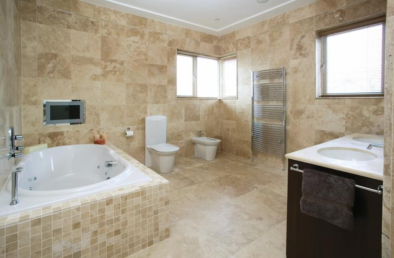 Carrelage travertin pierre naturelle int rieur beige 1er choix carra france Carrelage travertin salle de bain