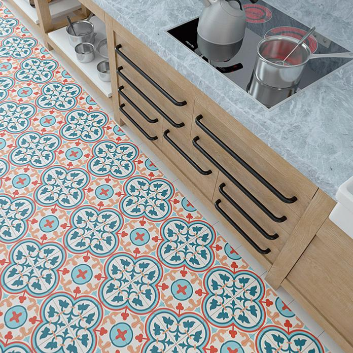 aliso carreaux de ciment 20 x 20 bleu rouge carra france. Black Bedroom Furniture Sets. Home Design Ideas