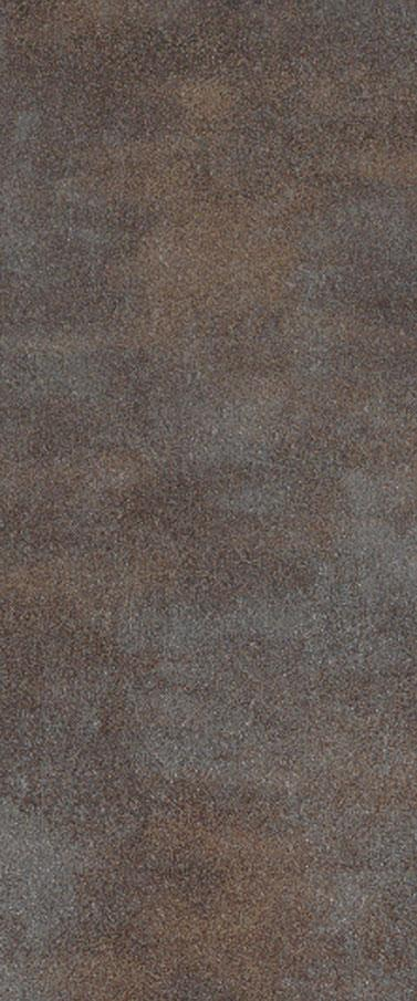 Dalle metallic dalle pvc clipsable marron bronze effet for Carrelage rouille