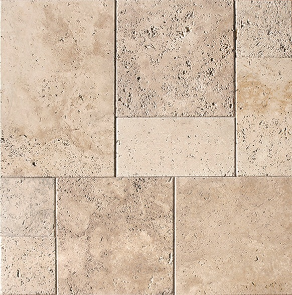 Classic Carrelage Travertin Pierre Naturelle Ext Rieur Beige 1er Choix Carra France