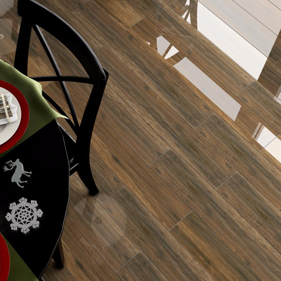 Carrelage Design nettoyer rouille sur carrelage : NATURAWOOD, carrelage sol et mur 14.3x90, EBONI, imitation ...