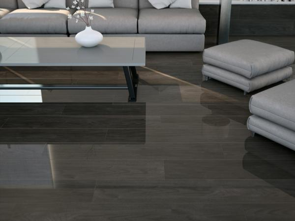 newtron carrelage int rieur 20x114 anthracite imitation parquet carra france. Black Bedroom Furniture Sets. Home Design Ideas