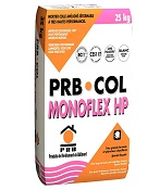 MORTIER COLLE MONOFLEX HP - INTERIEURS & EXTERIEURS 25KG