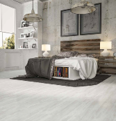 LAME EXCLUSIVE-WOOD, lame pvc clipsable, BLANC GRIS, effet bois