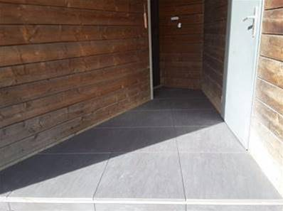 Dalle artens carrelage ext rieur 2 cm gris anthracite for Carrelage 60x60 gris anthracite