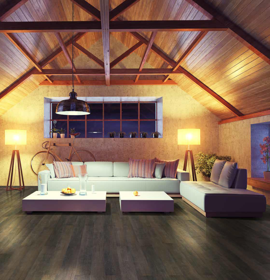 lame natura wood lame pvc clipsable chene marron fonce effet bois. Black Bedroom Furniture Sets. Home Design Ideas