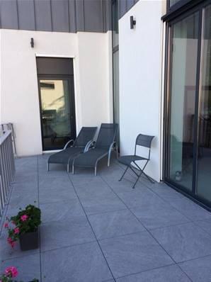 dalle soul carrelage ext rieur 2 cm gris effet pierre carra france. Black Bedroom Furniture Sets. Home Design Ideas