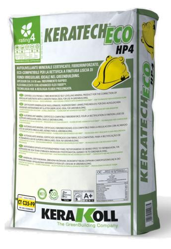 KERATECH ECO HP4 - RAGREAGE INTERIEURS / EXTERIEURS - 25KG