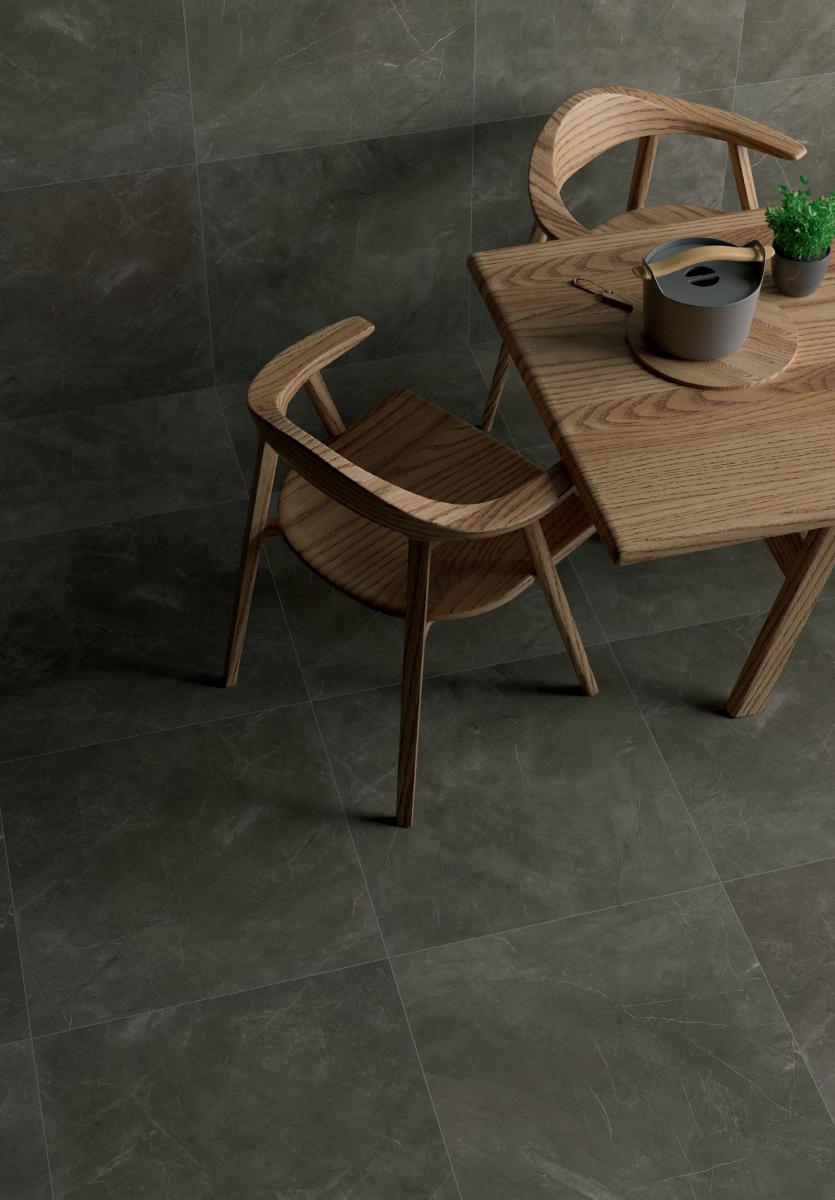 Pulpis carrelage sol et mur 30x60 nero effet marbre for Carrelage interieur marbre