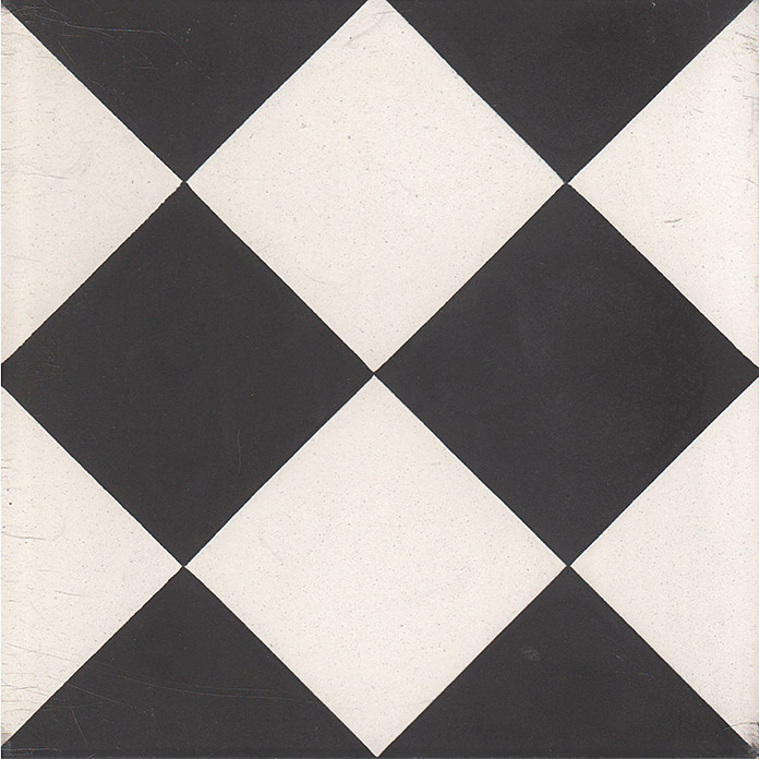 Mods carreaux de ciment 20 x 20 carra france - Carreau ciment noir et blanc ...