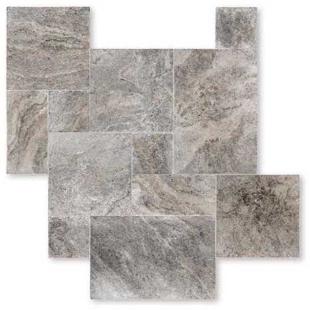 silver carrelage travertin pierre naturelle ext rieur. Black Bedroom Furniture Sets. Home Design Ideas