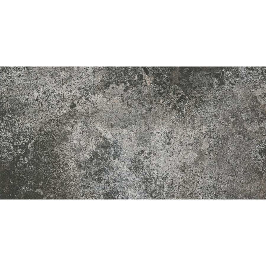 Beton carrelage sol et mur 30x60 gris fonce effet b ton for Carrelage gris fonce