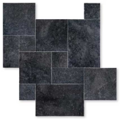 BLUESTONE, carrelage pierre bleue multiformat, BLEUE