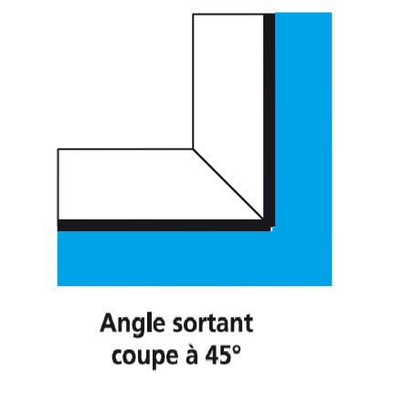 Angle de margelle de piscine en c ramique s rie siena for Margelle fenetre sous sol