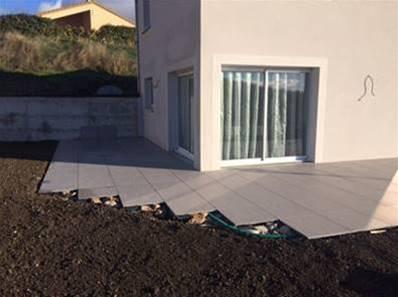 dalle artens carrelage ext rieur en gr s c rame de 2 cm gris effet beton us carra france. Black Bedroom Furniture Sets. Home Design Ideas
