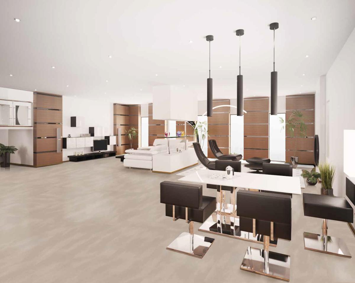 dalle artens dalle pvc clipsable beige effet b ton. Black Bedroom Furniture Sets. Home Design Ideas